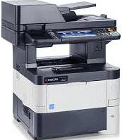 High Speed MFP Product from Kyocera, up 40 ppm,colour scaner+ Network printer,F4 original size,ARDF+Duplex included (standard),