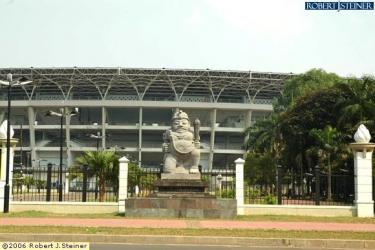 Main Stadium - Gelora Bung Karno @ Jalan Pintu 1
