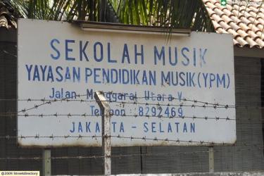 YPM Music School @ Jalan Manggarai Utara 5