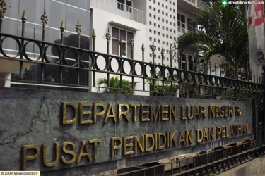 Pusat Pendidikan dan Pelatihan Departemen Luar Negeri (Pusdiklat Deplu) @ Jalan Sisingamangaraja