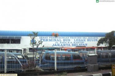 Lebak Bulus Bus Station @ Jalan Pasar Jumat