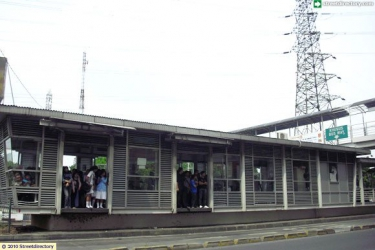 Cililitan PGC Busway Bus Stop