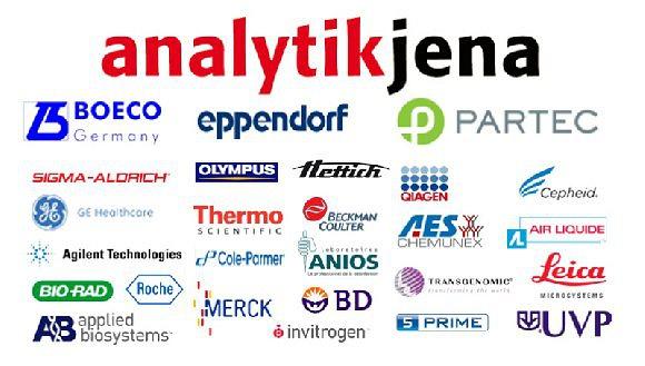 Brand: Analytik Jena | Eppendorf | Boeco | Partec | Sigma Aldrich | Olymbpus | Applied Biosystem | Merck | Thermo Scientific | Invitrogen | Qiagen | BioRad | Anios | EcoLab | Agilent | Shimadzu | Hettich | Etc..... |