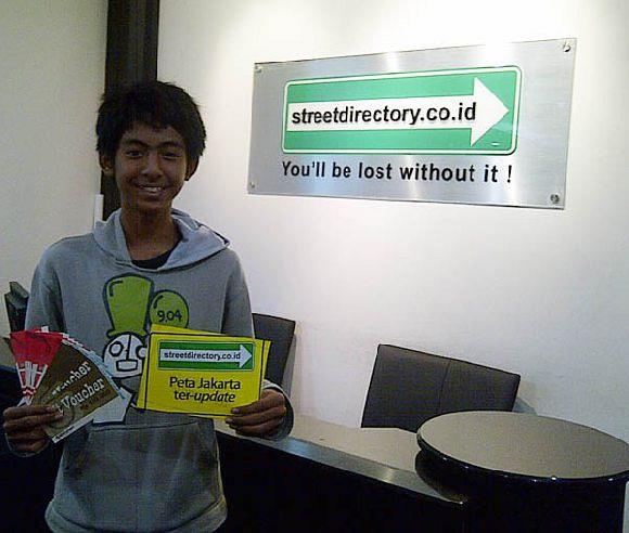 Pemenang Event Oct-Dec11 - Voucher Belanja Matahari Rp 1jt: Nur Ahmad Dzikron