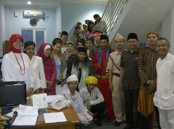 Team Members in Independence Day Dress Code