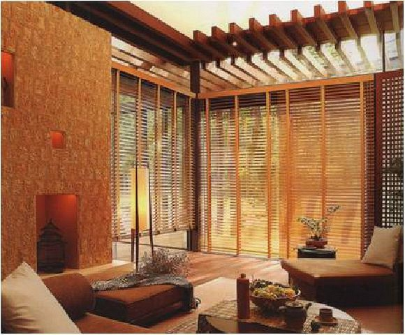 TOSO Bamboo & Wood Blind