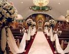 Golden Wedding Decoration Photos