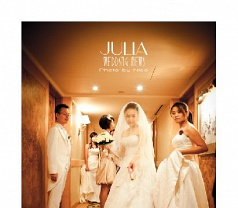 Julia Wedding News Photos