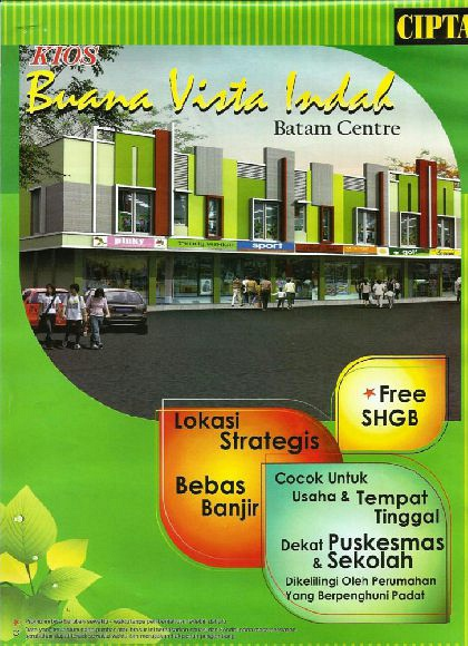 Kios Buana Vista Indah | Batam Centre