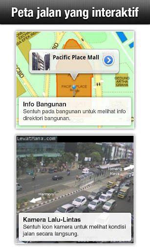 Peta Jalan yang Interaktif