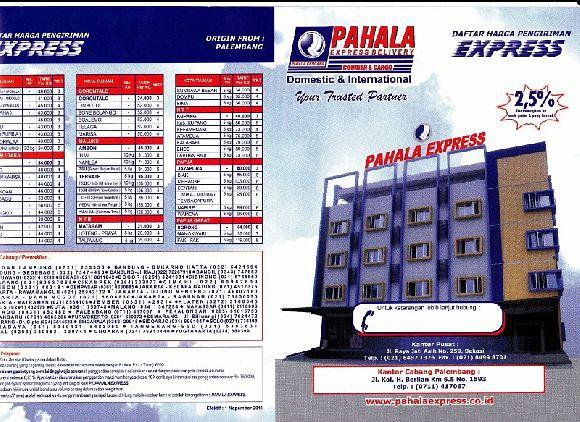 Daftar Harga Express Palembang 1